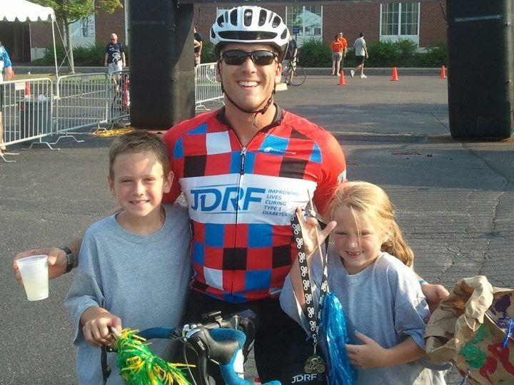 Ride Finish with Kids